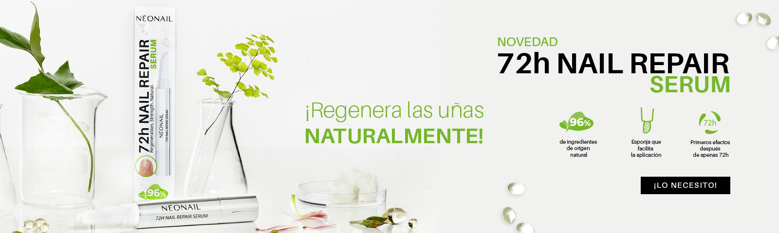 Repair Serum 72 Efectos después de 72h  ¡Eligo regeneración!