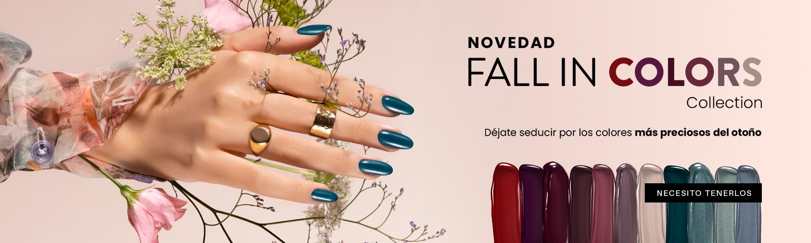 Fall in Colors NUEVA COLECCIÓN DE OTOÑO  ¡DESCUBRE!
