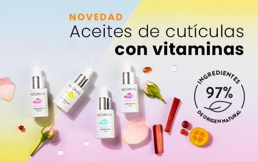 Aceite de cutículas con vitaminas de NEONAIL