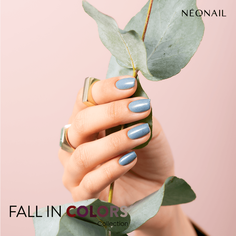 Fall in blue