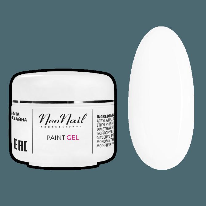 Paint UV/LED Gel 5ml - White Rose