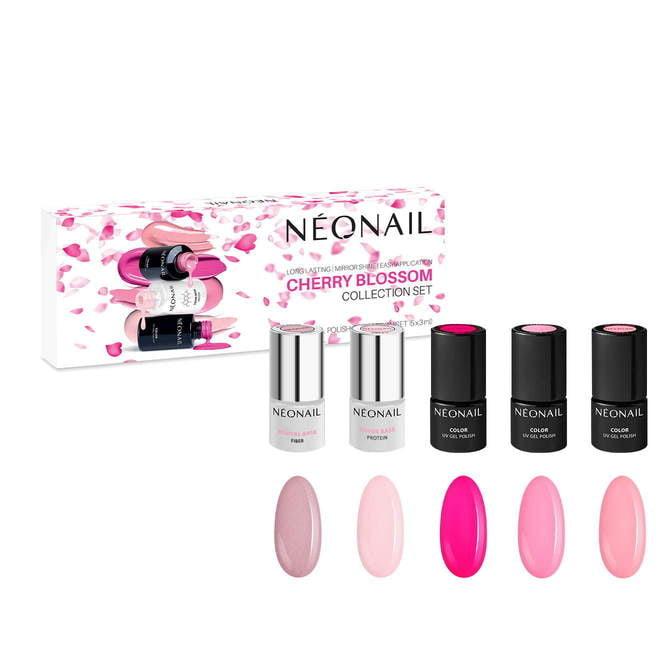 Kit de manicura semipermanente Cherry Blossom