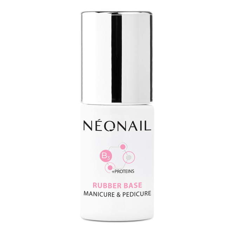 Esmalte semipermanente 7,2 ml - Rubber Base Manicure & Pedicure