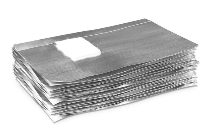 Nail Foil Wraps - 50 uds. 4458-1